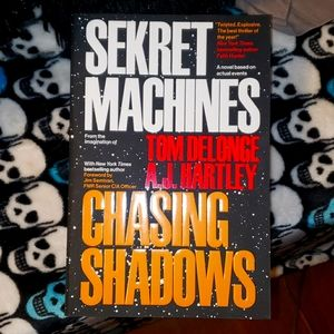 Sekret Machines book by Tom DeLong & A.J. Hartley